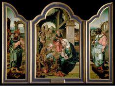Tríptico de la Adoración de los Reyes Magos, de Pieter Coecke van Aelst