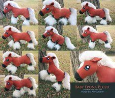 Baby Epona Plush - OPEN FOR COMMISSIONS by Amouranth