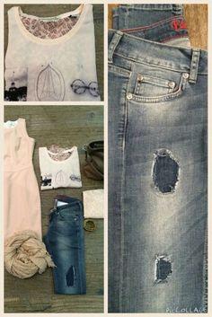 Eden Schwartz jeans broken en repair #vintage #newcollection #Partnermanvrouwmode