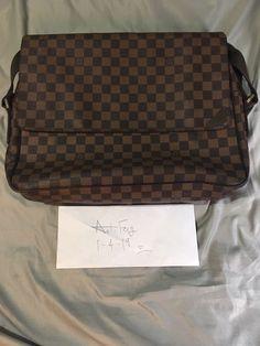 57b7c5ecfc0f LOUIS VUITTON Authentic Shoulder Messenger Bag  fashion  clothing  shoes   accessories  mensaccessories