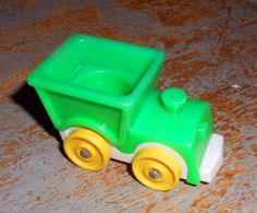 Vintage Toy Fisher Price Train Car Little People by TheBackShak, $5.00