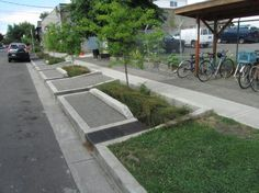 Roadside Garden: bioswale projects to restore water cycle in Portland, Oregon // by Arthur Smid