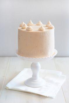 Wedding Dessert: Strawberry Milkshake Cake. Recipe & Photography: @Sugary & Buttery