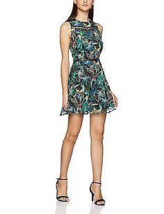 40 (Manufacturer size: T40), Multicoloured (Black/Garden green), Morgan Women's