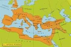 Mapa Imperio Romano