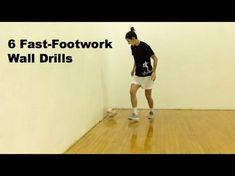 These fast-footwork soccer drills can be done anywhere at any time! All you need is a soccer ball and a wall. Soccer Training Drills, Soccer Drills For Kids, Basketball Tricks, Soccer Workouts, Football Drills, Soccer Practice, Soccer Skills, Soccer Coaching, Youth Soccer