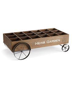 Herb Garden Planter Cart