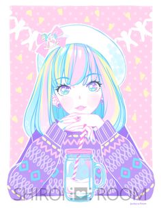 Milk Party - Art Print from Shiroi ♥ Room