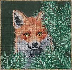 Fox -  Sandra Gilmore Needlepoint