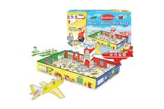 This hands-on, highly entertaining game uses aviation to foster your youngsters' imaginations as they fly around town delivering passengers to various destinations. With hours of entertainment, this is a must have for your little AvGeek.