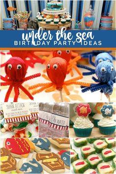 A Colorful Boys Under The Sea Bash