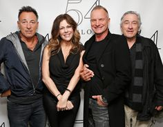 Bruce Springsteen, Rita Wilson, Sting, And Robert De Niro | GRAMMY.com