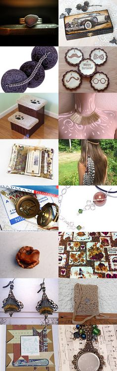 Gifts, Gifts, Gifts... by sylvia on Etsy--Pinned with TreasuryPin.com  #Etsy #EtsyRMP #PayItForward