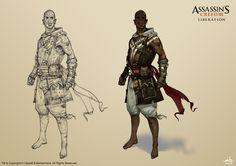 'Assassin's Creed 3: Liberation' Agate by Mitkov.deviantart.com on @deviantART