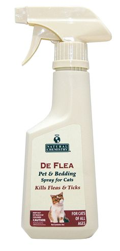 Natural Chemistry De Flea Cat Pet and Bed Spray >>> Continue to the product at the image link.