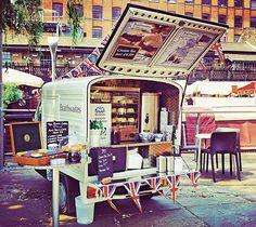 Vintage style - Braithwaites food van