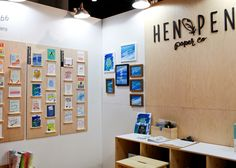 Oh So Beautiful Paper: National Stationery Show 2015 - Hen Pen Paper Co.