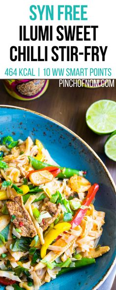 Syn Free Ilumi Sweet Chilli Stir-Fry | Pinch Of Nom Slimming World Recipes 464 kcal | Syn Free | 10 Weight Watchers Smart Points