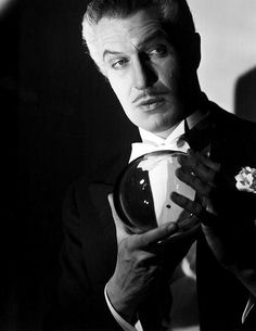 """Vincent Price as Maximilian the Great in """"The Long Night"""" (1947)."""