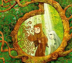 """The Secret of Kells"" - I watched this movie on a whim on Netflix once and fell in love. One of these days I shal have to actually buy it..."