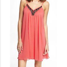 Beaded Flow Pink Express Dress