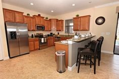 EC9105- Five Star Vacation Homes-Champions Gate: Kitchen