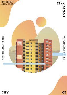 City Poster Design 05 Collection Minimalistische und kreative Kunst Inspiration Zeka Design What is Art Jazz Poster, City Poster, Poster Architecture, Architecture Graphics, Building Architecture, Minimalist Poster Design, Graphic Design Posters, Graphic Designers, Flat Design Poster