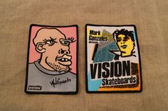 VISION Patch -MARK GONZALES