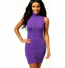 boohoo Lydia Turtle Neck Jersey Bodycon Dress - violet '90s inspired fashion is huge right now, and this cute bodycon dress is ideal for embracing the trend. The go-to style in every girls wardrobe, well be wearing it with a pair of studded high heels , c http://www.comparestoreprices.co.uk/dresses/boohoo-lydia-turtle-neck-jersey-bodycon-dress--violet.asp