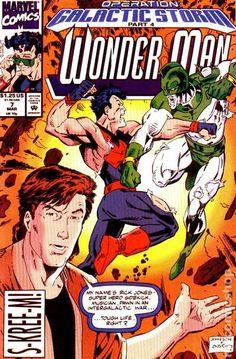 Operation: Galactic Storm (Part Wonder Man, Wonder Woman Comic, Comic Art, Comic Books, After Dark, Marvel Comics, Novels, Superhero, Magazines