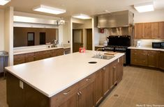 industrial church kitchens | New commercial grade kitchen in expanded parish hall