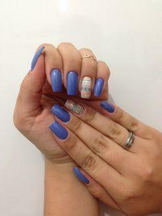 Unhas da semana.. Marshimalow de Alfazema - Risque. #unhas #nails #risque #cute #fofa #adesivos #filhaunica #inlove #amei