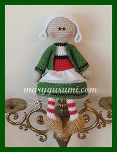 Amigurumi, poupée au crochet, La célèbre Bretonne : Jeux, jouets par marygurumi