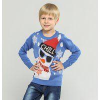 Prezzi e Sconti: #Pullover a maglia per bambini chill 98-104  ad Euro 17.99 in #Blu #Childrens clothing