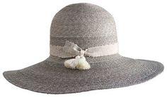 Yestadt Millinery Luna Wide-Brim Straw Hat #hat #womens