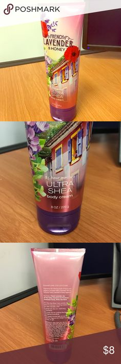 BATH & BODY WORKS - French Lavender & Honey Lotion Full 8.0oz bottle of Body Lotion (ULTRA SHEA BODY CREAM) - from Bath & Body Works in the scent French Lavender & Honey bath & body works Other