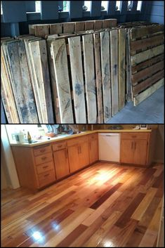 Find and save ideas about Pallet wood floors on Jbirdny.com.   #PalletWoodFloors #Floors #Wood #Flooring
