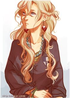 This is my absolute favorite Luna Lovegood fan art. By Viria.