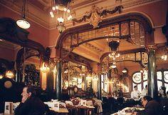 """""""Café Majestic"""" - Late Nineteenth Century café"""