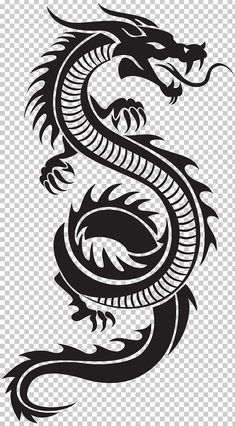 Chinese Dragon Silhouette PNG Clip Art Chinesischer Drache Silhouette PNG ClipArt # Art This image. Dragon Tattoo Drawing, Red Dragon Tattoo, Tribal Dragon Tattoos, Small Dragon Tattoos, Chinese Dragon Tattoos, Dragon Tattoo Designs, Chinese Dragon Drawing, Small Tattoos, Dragon Tattoo Clipart