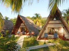 """#Seychellen """"La Digue Island Lodge"""" ideal für eine Strandhochzeit oder die #Flitterwochen ab 173 Euro Halbpension (£140.39 or $225.87) pro Tag:  http://www.seychellenreisezeit.com/seychellen-reisezeit-heiraten-seychellen/"""