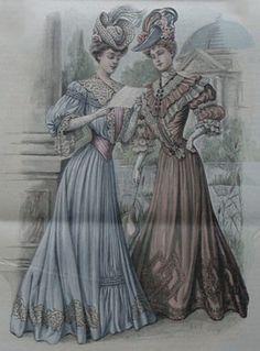 Abiti Antichi - Storia della Moda 1905