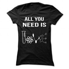 SCIENCE LOVE - Hot Trend T-shirts