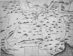 AD 1277 Vintage World Maps, Languages, Holland, Legends, Idioms, The Nederlands, The Netherlands, Netherlands