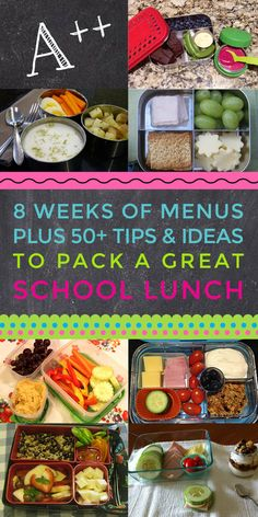 This is a seriously creative and innovative guide to packing healthy school lunches! It's not just a cookbook with recipes - it's a meal plan so you can take all the stress out of packing lunches every day, with lots of room and ideas for the days when you just don't feel like packing anything. Plus, the little tips like how to make your own ice pack and how to save money getting gear make it totally worth it.