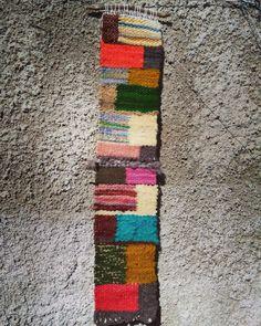 Telar técnica tapicería $ 15.000 pesos 70x24 cm
