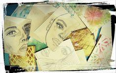 ATC. Tarjetas artísticas coleccionables  Eva In