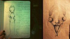 Draws and Sketches - Pandemonia Portfolio