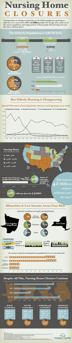 nursing infographic | brought to you by assistedlivingtoday com
