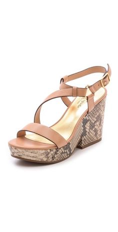 Kate Spade New York Viex Cork Wedge Sandals | SHOPBOP